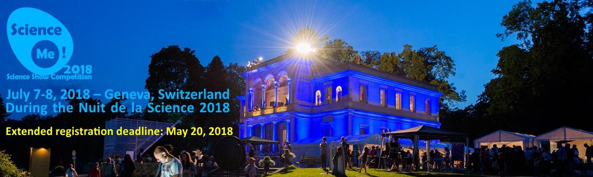 Science Me! 2018 – Geneva, Switzerland